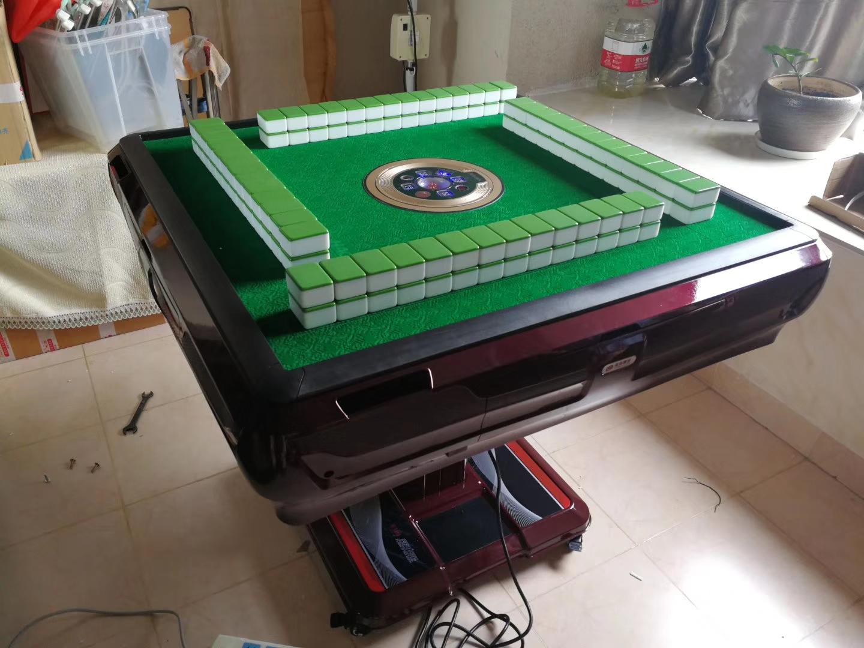 重庆卖麻将机折叠紫红色折叠款式大号牌