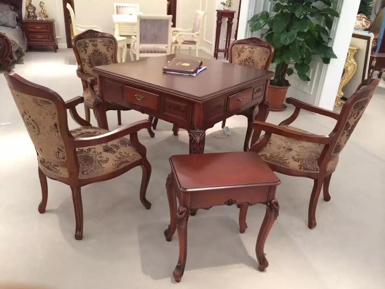 重庆餐桌高端实木麻将桌批发 销售